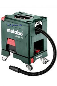 Аккумуляторный пылесос Metabo AS 18 L PC Set кар.