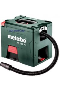 Аккумуляторный пылесос Metabo AS 18 L PC каркас