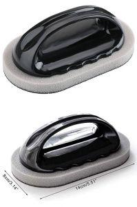 Абразивная черная щетка для чистки поверхности