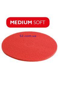 Пад красный для полотеров 330 мм