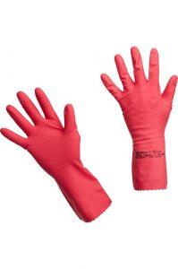 Перчатки латексные многоцелевые красные