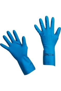 Перчатки латексные многоцелевые синие