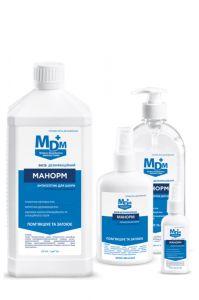 Антисептик для кожи Манорм с пантенолом и глицерином от МДМ+
