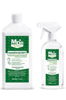 Дезинфицирующее жидкое средство Манорм Експерт для кожи и поверхностей