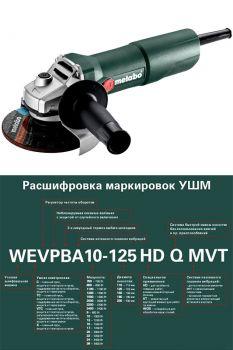 Сетевая новая болгарка Метабо W 750-125