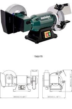 Комбинированная машина для сухого / влажного шлифования TSN 175