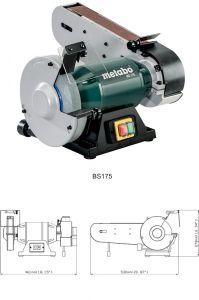 Комбинированный ленточно-дисковый станок Metabo BS 175