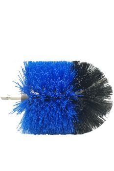 Щетка ершик комби (черно/синяя) крепление шестигранник