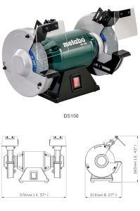 Точило Метабо с кругом 150 мм DS 150