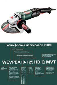 Болгарка двуручная Metabo WEA 19-180 Quick RT