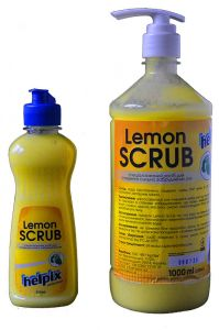 Жидкое мыло Lemon SCRUB для сильно загрязненных рук
