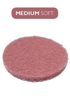 Пад бордовый умеренно мягкий 100 мм (4` дюйма) под липучку