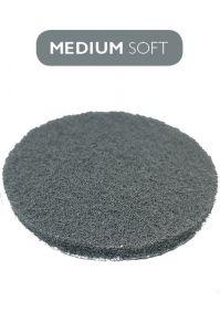 Пад темно-серый умеренно мягкий 100 мм (4` дюйма) под липучку