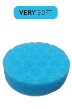 Пад поролоновый голубой мягкий 100 мм (4` дюйма) под липучку