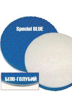Специальный бело-синий волнистый пенный пад 430 мм