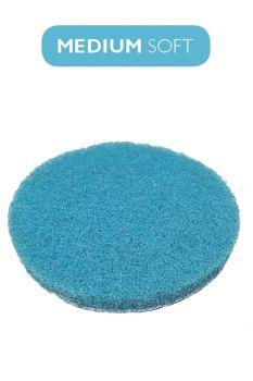 Пад синий умеренно мягкий 100 мм (4` дюйма) под липучку