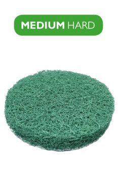 Пад зеленый средней жесткости 100 мм (4`) под липучку