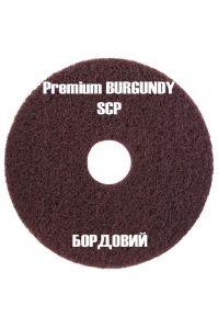 Бордовый абразивный суперочистительный пад SCP 430 мм (17 дюймов)