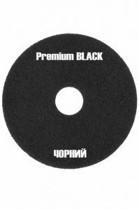 Высокоагрессивный черный пад для уборки 430 мм (премиум) 17 дюймов