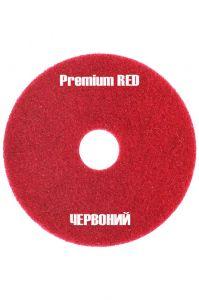 Красный пад премиум средней жесткости 430 мм (17 дюймов) для преспрей