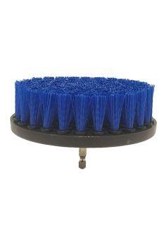 Щетка мягкая синяя 120 мм (5') под дрель / шуруповерт