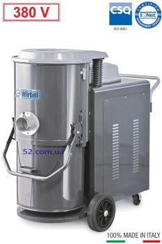 Промышленный пылесос Wirbel - T 55. 7,5 Hp, 380 V